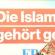Wahlkampfthema Islam – eine Onlinediskussion