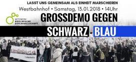 NMZ BLOCK – Großdemo gegen Schwarz-Blau
